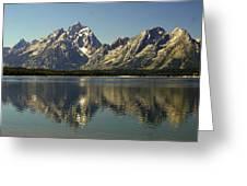 Jackson Lake 2 Greeting Card by Marty Koch