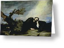 Jacobs Dream Greeting Card by Jusepe de Ribera