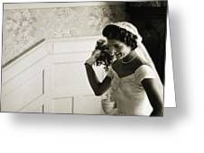 JACQUELINE KENNEDY Greeting Card by Granger