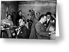 Jam Session, 1947 Greeting Card by Granger