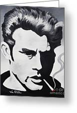 James Dean  Greeting Card by Joseph Palotas