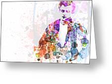 James Dean Greeting Card by Naxart Studio