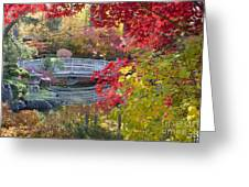 Japanese Gardens Greeting Card by Idaho Scenic Images Linda Lantzy