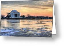 Jefferson Greeting Card by JC Findley