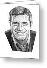 Jerry Lewis Greeting Card by Murphy Elliott