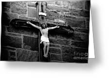 Jesus Christ Greeting Card by David Lee Thompson