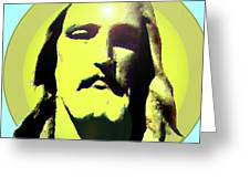 Jesus Christ No. 03 Greeting Card by Ramon Labusch