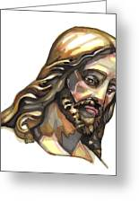 Jesus No 3 Greeting Card by Edward Ruth