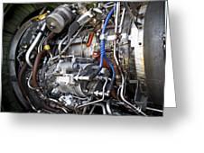 Jet Engine Greeting Card by Ricky Barnard
