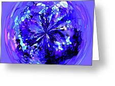Jewel Greeting Card by Terril Heilman