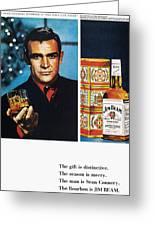 Jim Beam Ad, 1966 Greeting Card by Granger