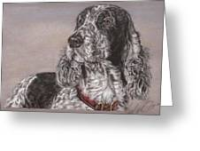 Johnny Greeting Card by Terry Kirkland Cook