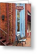Jonesborough Tennessee Main Street Greeting Card by Frank Romeo