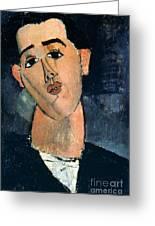 Juan Gris (1887-1927) Greeting Card by Granger