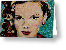 Judy Greeting Card by Denise Landis