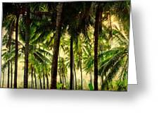 Jungle Paradise Greeting Card by James BO  Insogna