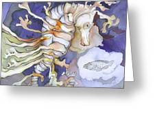 Just Dreaming Too Greeting Card by Liduine Bekman