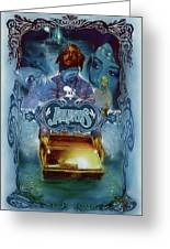 K-os Atlantis Hymns For Disco Greeting Card by Nelson Garcia