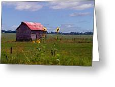 Kansas Landscape Greeting Card by Steve Karol