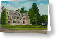 Kappa Delta Rho North View Greeting Card by Charlotte Blanchard