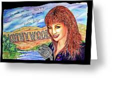Kathywood Greeting Card by Joseph Lawrence Vasile