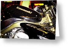 Kawasaki Greeting Card by Stelios Kleanthous