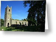 Kenmare Church Ruins Greeting Card by John Quinn