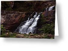 Kent Falls Greeting Card by Karol  Livote
