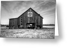 Kentucky Barn Greeting Card by Judith Pannozo