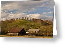 Kentucky Mountain Farmland Greeting Card by Douglas Barnett