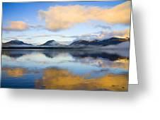 Ketchikan Sunrise Greeting Card by Mike  Dawson