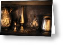 Kettle - Ready For A Drink Greeting Card by Mike Savad