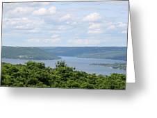 Keuka Lake Greeting Card by Timothy Wahl