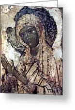 Khalkopratiyskaya Virgin Greeting Card by Granger