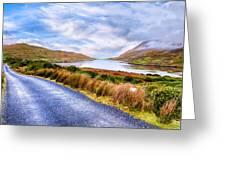 Killary Fjord In Ireland's Connemara Greeting Card by Mark E Tisdale