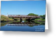 Kings Bridge Greeting Card by Jack Norton