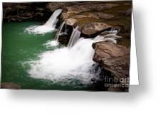 Kings River Falls Greeting Card by Tamyra Ayles