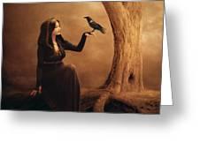 Kinship Greeting Card by Jennifer Gelinas