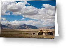 Kirgizian Jurts Greeting Card by Konstantin Dikovsky