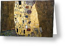 Klimt: The Kiss, 1907-08 Greeting Card by Granger