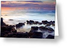 Koloa Sunrise Greeting Card by Mike  Dawson
