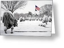 Korean War Memorial Greeting Card by Granger