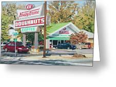 Krispy Kreme At Daytime Greeting Card by Tommy Midyette