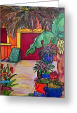 La Cantina Greeting Card by Patti Schermerhorn