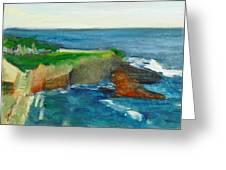 La Jolla Cove 021 Greeting Card by Jeremy McKay
