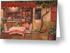 La Palette Greeting Card by Guido Borelli