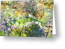 La Provence 07 Greeting Card by Miki De Goodaboom