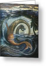 La Sirene Rabbah Greeting Card by Barbara Nesin