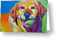 Lab - Bud Greeting Card by Alicia VanNoy Call