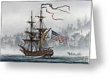 Lady Washington Greeting Card by James Williamson